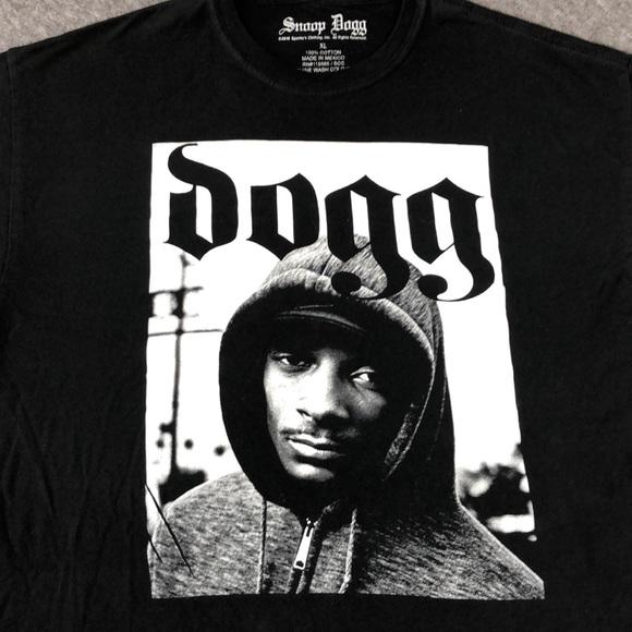 b41b7b38 snoop dogg Shirts | Snoop Dog Screen Print T Shirt Size Xl | Poshmark